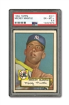1952 TOPPS #311 MICKEY MANTLE ROOKIE PSA EX-MT+ 6.5
