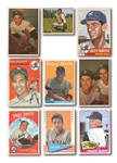 1950S-60S NEW YORK YANKEES COLLECTION OF (44) STARS AND HOFERS