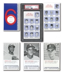 RARE 1964 TOPPS ROOKIE ALL-STAR BANQUET (WALDORF ASTORIA) COMPLETE BOXED SET OF (36) INCL. PETE ROSE ROOKIE CARD