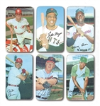 1971 TOPPS SUPER BASEBALL COMPLETE SET OF (63) AND 1970 TOPPS SUPER NEAR SET (36/42) INCL. POWELL