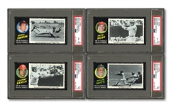 1971 TOPPS GREATEST MOMENTS COMPLETE SET OF (55)