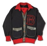 C. 1930S BOSTON RED SOX GAME WORN JACKET WITH POSSIBLE ATTRIBUTION TO MANAGER BUCKY HARRIS