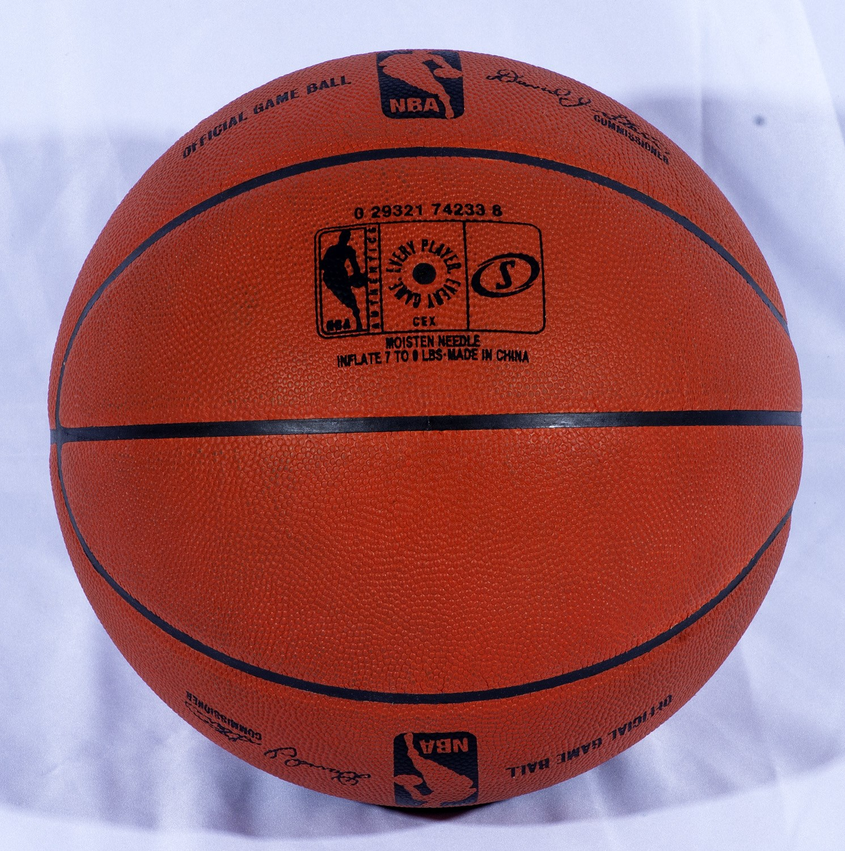 5b44f23a Lot Detail - MICHAEL JORDAN AND KOBE BRYANT DUAL-SIGNED OFFICIAL NBA ...