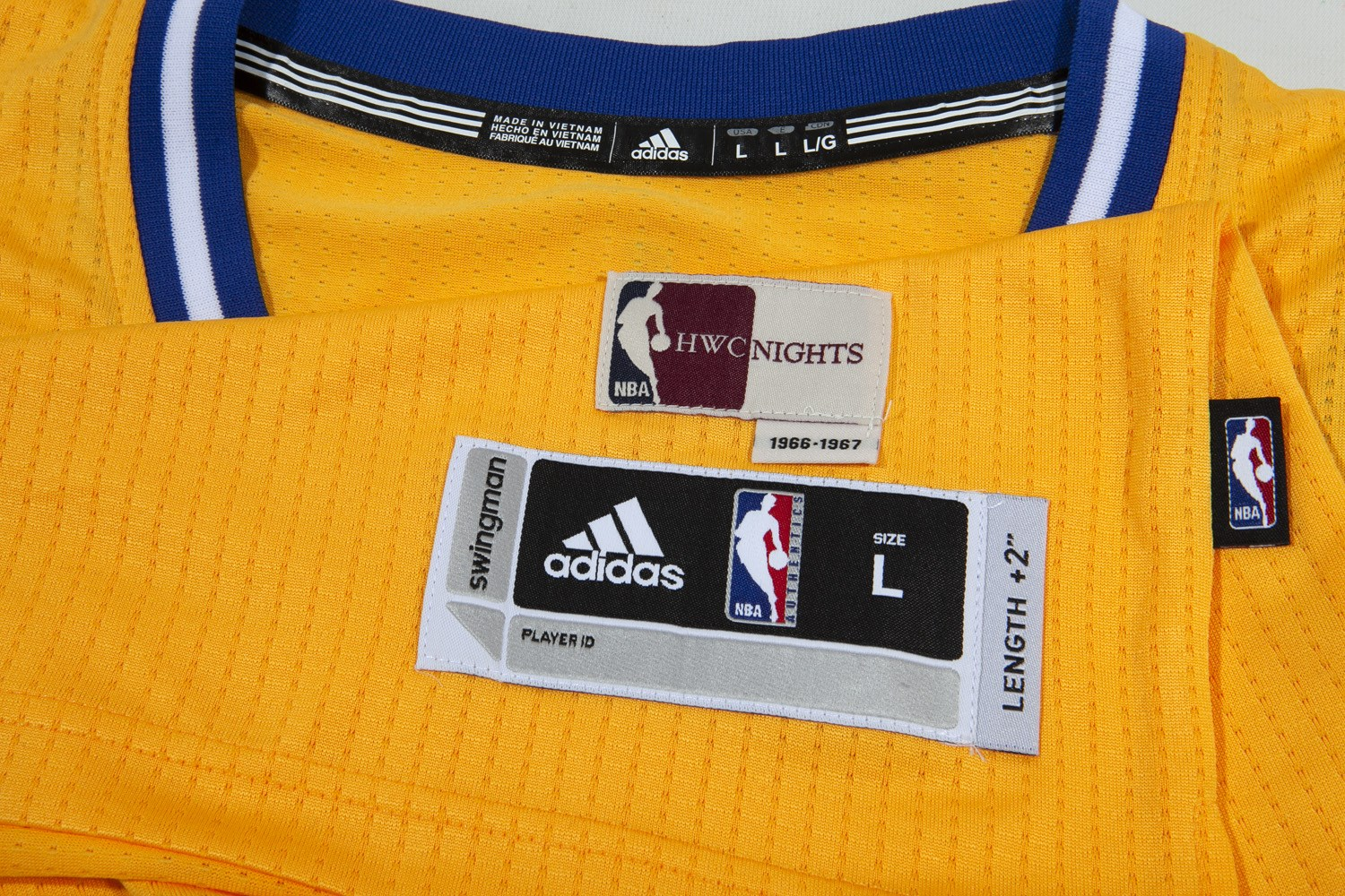 f5951d9707a8 STEPHEN CURRY AUTOGRAPHED GOLDEN STATE WARRIORS ADIDAS SWINGMAN THE CITY  1966-67 THROWBACK JERSEY (. Touch to zoom. Previous