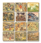 PRE-WORLD WAR II NON-SPORT LOT OF (275) INCL. 100 GOUDEY HORRORS OF WAR