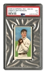 1909-11 T206 WHITE BORDER CHRISTY MATHEWSON (DARK CAP) PSA EX 5