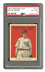 1915 CRACKER JACK #116 ROLLIE ZEIDER EX-MT PSA 6
