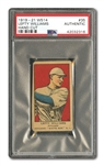 1919-21 W514 HAND-CUT LEFTY WILLIAMS (BLACK SOX PITCHER) PSA AUTHENTIC