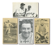 "1936 GOUDEY R314 ""WIDE PEN"" PREMIUMS LOT OF (8) INCL. DIMAGGIO, MCCARTHY, AND FELLER"