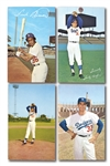 1959-77 LOS ANGELES DODGERS POSTCARDS LOT OF (57) DIFFERENT