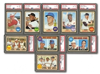 1968 TOPPS BASEBALL HIGH GRADE COMPLETE SET OF (598)