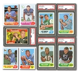 1968 TOPPS FOOTBALL COMPLETE SET OF (219)