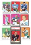 1969 TOPPS FOOTBALL COMPLETE SET OF (263)
