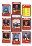 1971 O-PEE-CHEE FOOTBALL COMPLETE SET OF (132)