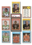 1972 O-PEE-CHEE FOOTBALL COMPLETE SET OF (132)