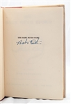 "BABE RUTH AUTOGRAPHED 1948 ""THE BABE RUTH STORY"" FIRST EDITION HARDCOVER BOOK"