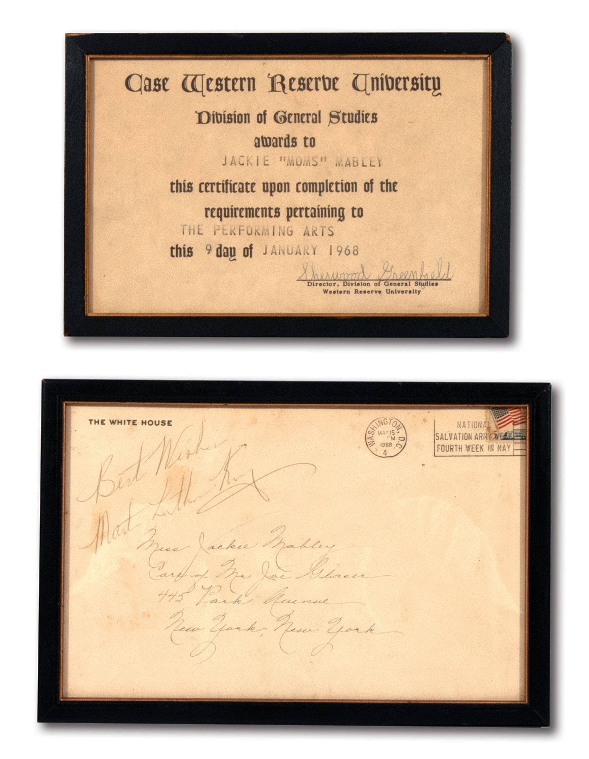 Lot Detail - 1966 MARTIN LUTHER KING JR  AUTOGRAPHED WHITE
