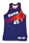 1993-94 A.C. GREEN PHOENIX SUNS GAME WORN HOME JERSEY PHOTO-MATCHED TO MULTIPLE GAMES INCL. PLAYOFFS