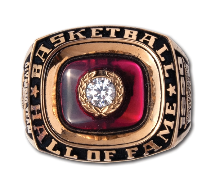 OSCAR ROBERTSONS 1960 OLYMPIC TEAM HALL OF FAME INDUCTION RING (ROBERTSON COLLECTION)