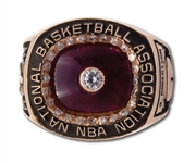 OSCAR ROBERTSONS 1960-74 NBA CAREER 14K GOLD RING (ROBERTSON COLLECTION)