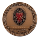 OSCAR ROBERTSONS 1819-1969 UNIVERSITY OF CINCINNATI SESQUICENTENNIAL (150 YEARS) ANNIVERSARY LEADERSHIP MEDAL (ROBERTSON COLLECTION)