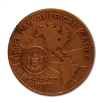 OSCAR ROBERTSONS 1959 PAN AMERICAN GAMES (CHICAGO) USA MENS BASKETBALL 1ST PLACE WINNERS GOLD MEDAL (ROBERTSON COLLECTION)