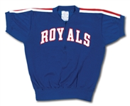 OSCAR ROBERTSONS C. 1960S CINCINNATI ROYALS GAME WORN SHOOTING SHIRT (ROBERTSON COLLECTION)