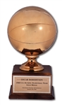 OSCAR ROBERTSONS 1960 U.S. OLYMPIC BASKETBALL TEAM GOLD MEDAL TROPHY (ROBERTSON COLLECTION)