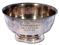 OSCAR ROBERTSONS 1959-60 UNIVERSITY OF CINCINNATI BEARCATS BASKETBALL CO-CAPTAIN BOWL MADE BY BALFOUR (ROBERTSON COLLECTION)
