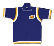 1980-82 JIM BREWER LOS ANGELES LAKERS GAME WORN WARM-UP JACKET