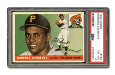 1955 TOPPS #164 ROBERTO CLEMENTE ROOKIE PSA VG-EX 4