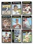 1971 TOPPS BASEBALL COMPLETE SET OF 752 (PLUS 2 WRAPPERS)