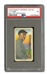 1909-11 T206 WHITE BORDER TY COBB (BAT OFF SHOULDER) PSA PR 1