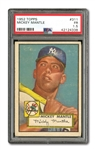1952 TOPPS #311 MICKEY MANTLE PSA FR 1.5