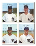 "1967 DEXTER PRESS NEW YORK YANKEES PREMIUMS (5-1/2"" BY 7"") COMPLETE SET (12)"