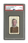 1910-11 M116 SPORTING LIFE WALTER JOHNSON PSA GOOD 2