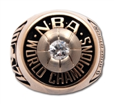 OSCAR ROBERTSONS 1971 MILWAUKEE BUCKS NBA WORLD CHAMPIONS 14K GOLD RING (ROBERTSON LOA)