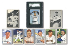 1951 BOWMAN (61/324), 1952 BOWMAN (36/252) AND 1953 BOWMAN BLACK & WHITE (18/64) STARTER SETS
