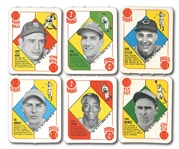 1951 TOPPS RED BACKS COMPLETE SET OF (52)