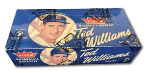 1959 FLEER TED WILLIAMS FULL UNOPENED WAX BOX (BBCE)