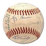 1959 NEW YORK YANKEES TEAM SIGNED OAL (HARRIDGE) BASEBALL