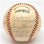 1974 NEW YORK YANKEES TEAM SIGNED BASEBALL INCL. MUNSON & STEINBRENNER