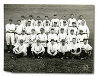 "1916 NEW YORK YANKEES LARGE FORMAT (10"" BY 13"") TEAM PHOTOGRAPH BY BROWN BROTHERS, NEW YORK"