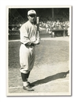"1921 FRANK ""HOME RUN"" BAKER WIDE WORLD NEWS SERVICE PHOTOGRAPH"