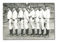"1924 YANKEES ""MILLION DOLLAR PITCHING STAFF"" NEWS SERVICE PHOTOGRAPH"