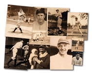 LOT OF (10) 1920S-30S NEW YORK YANKEES INDIVIDUAL PLAYER NEWS SERVICE PHOTOGRAPHS