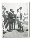 "1922 BABE RUTH AND BOB MEUSEL ""REINSTATEMENT"" ORIGINAL PHOTOGRAPH BY PAUL THOMPSON"