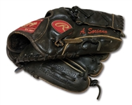 C. 1999-2003 ALFONSO SORIANO GAME USED RAWLINGS FIELDERS GLOVE