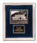 1938 NEW YORK YANKEES WORLD CHAMPIONS TEAM SIGNED PHOTOGRAPH