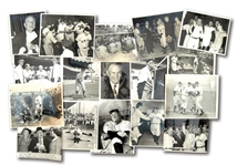CASEY STENGEL COLLECTION OF (16) VINTAGE PHOTOGRAPHS